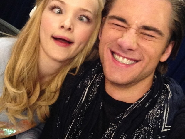 Dove Cameron and Luke Benward