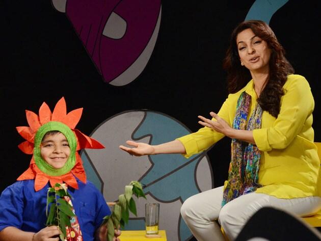 Juhi 'presenting' Captain Tiao