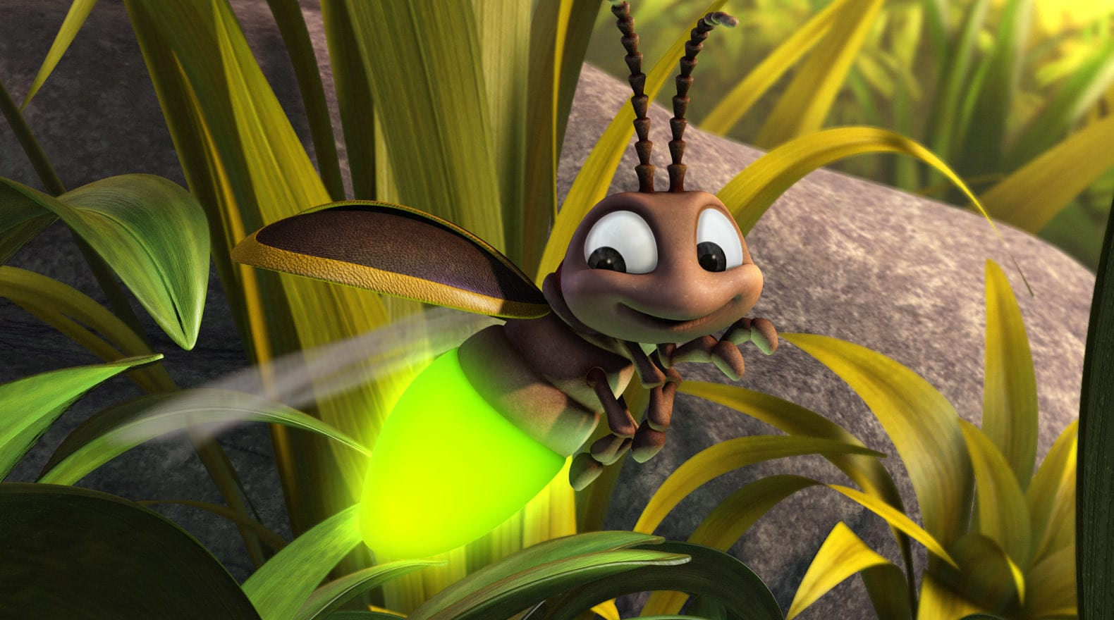 This firefly offers a helping hand, or light, whenever he can.