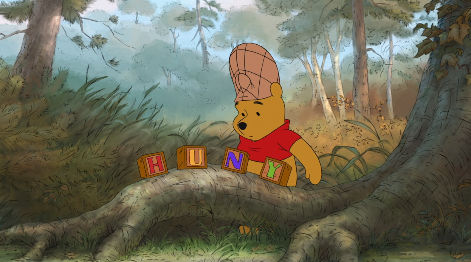 This isn't the hunny Pooh is looking for.