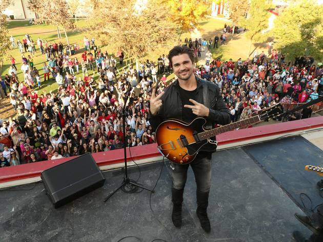 "Latin music superstar Juanes has written an original song titled ""Juntos (Together)"" specifically..."