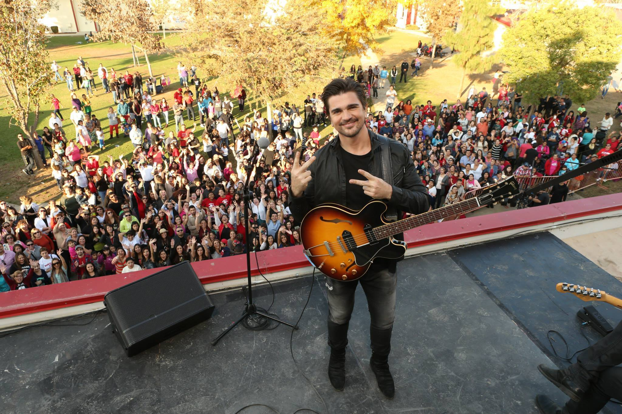 "Latin music superstar Juanes has written an original song titled ""Juntos (Together)"" specifically..."