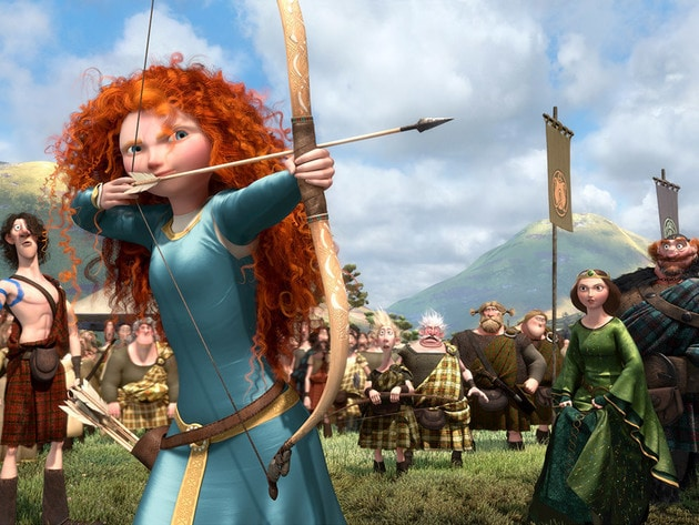 Merida decides to take her fate into her own hands.
