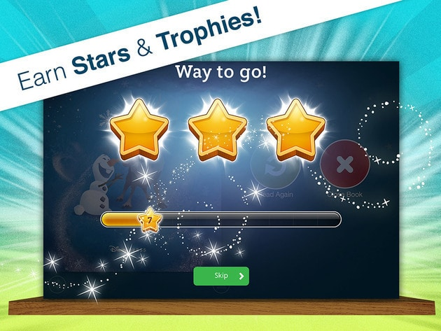 Earn stars & trophies & track your progress!