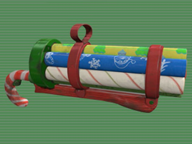 The Sparkle Blaster is an integral part of the coal elf brigade arsenal. Naughty kids are often m...