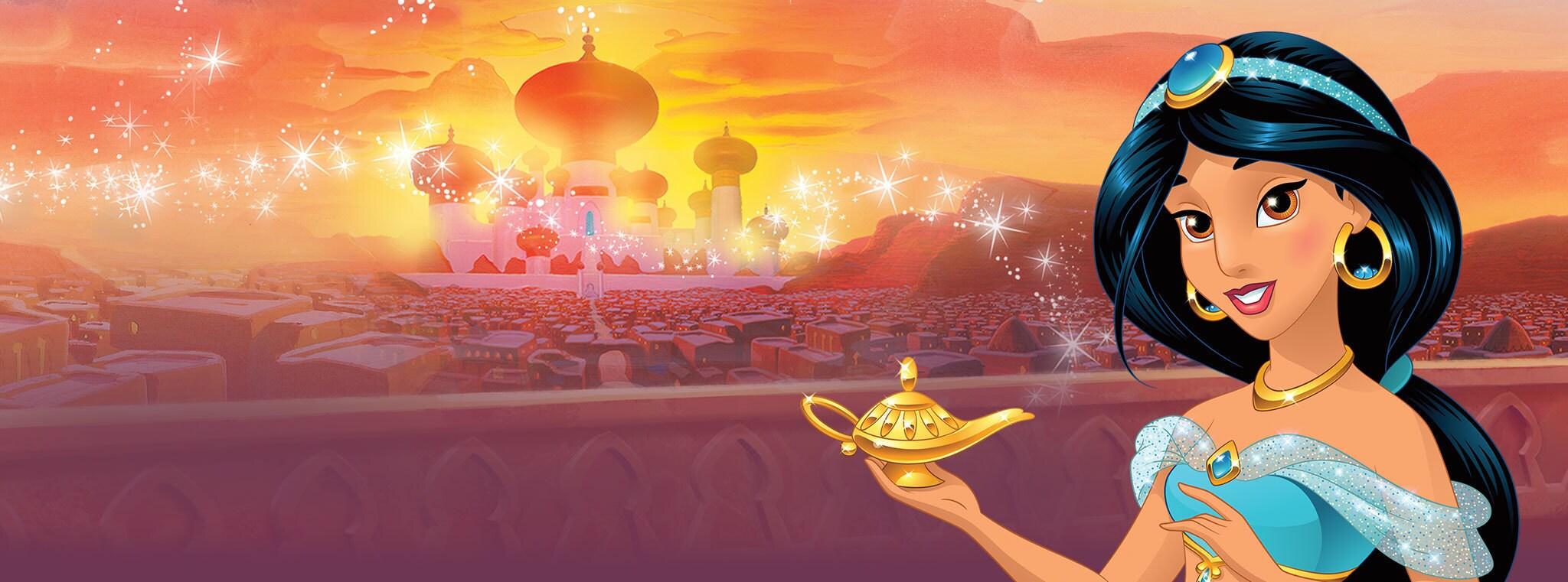 Jasmine Games & Videos - Aladdin - Disney Princess UK