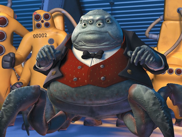 Mr. Waternoose has big plans for Monsters, Inc.