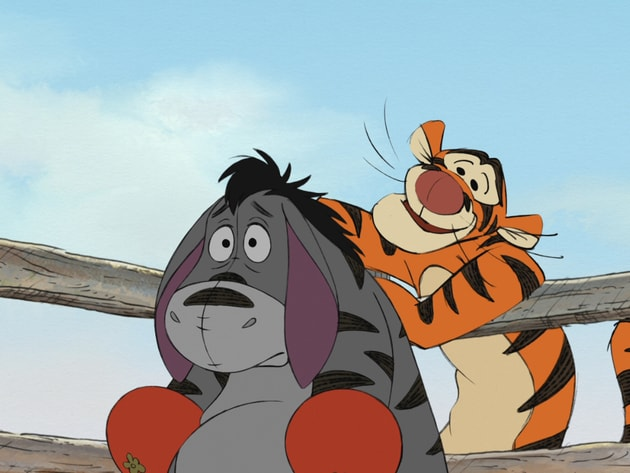Eeyore is a Tigger in training.