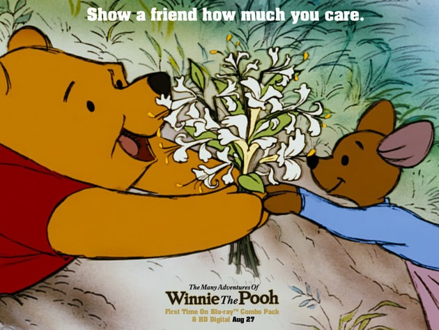 Show a friend how much you care.