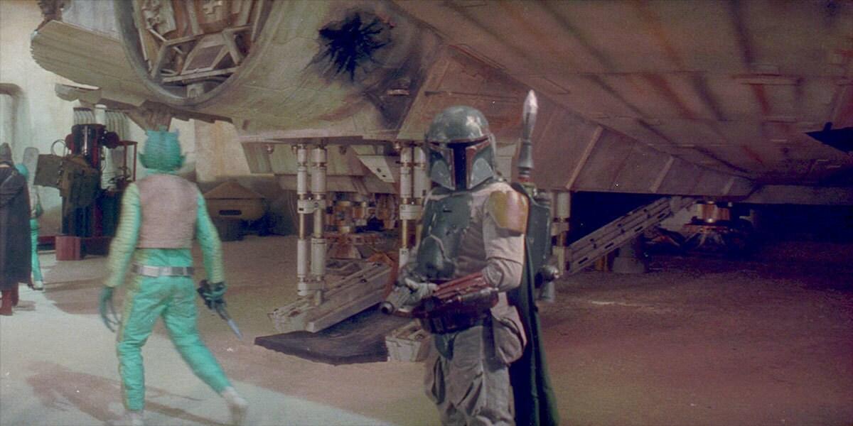 Boba Fett in Mandalorian armor
