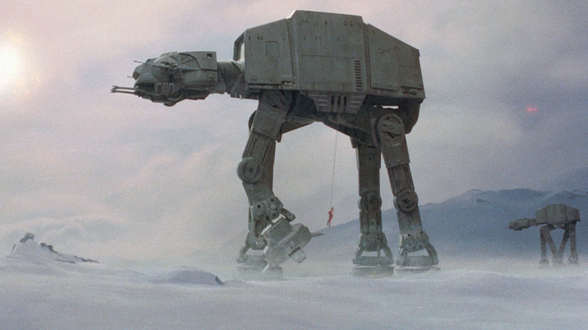 AT-AT walkers at the Battle of Hoth