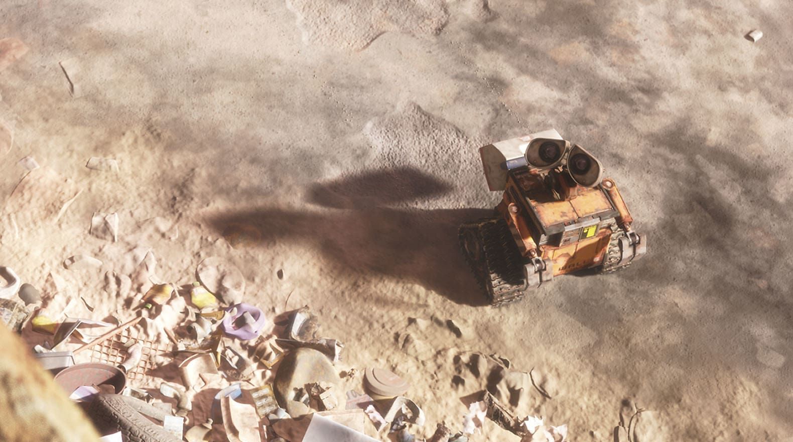 """Being the last """"Waste Allocation Load Lifter – Earth-Class"""" can be a bit lonely. From the movie """"Wall-E"""""""