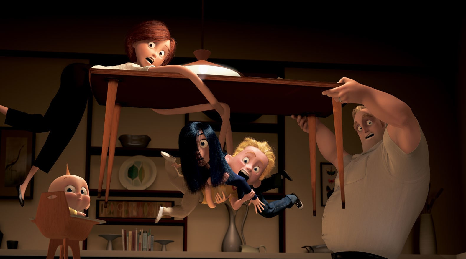 """Bonding time with the Parrs family in """"The Incredibles"""""""
