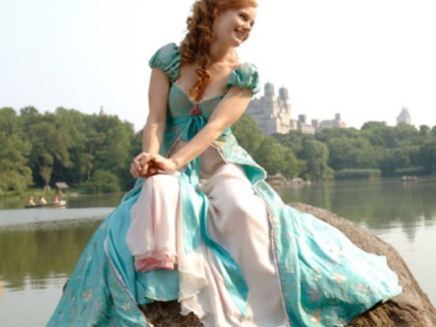In the 2007 film Enchanted, Giselle is the name of the ingenuous princess, portrayed by Amy Adams...