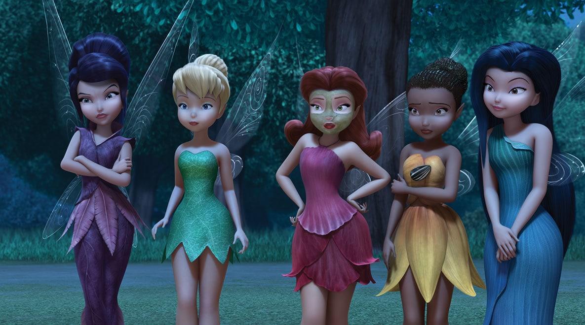 The fairies are fabulous.