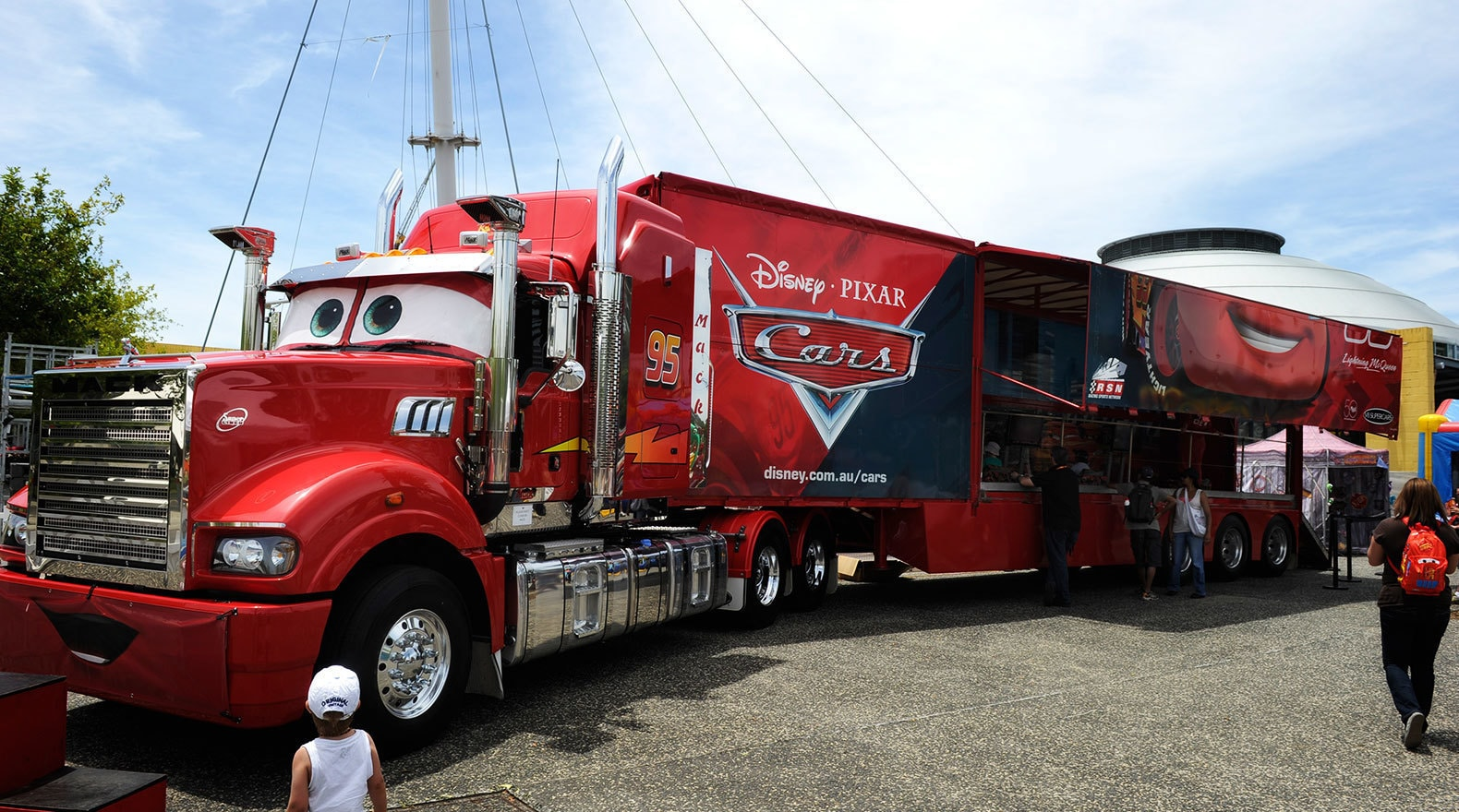 Disney Race Cars And Big Trucks
