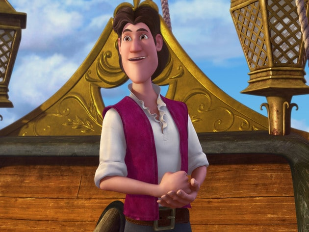 The cabin boy named James, who'll soon be known as Captain Hook.