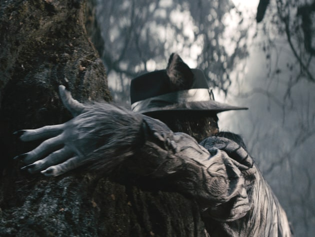 """Johnny Depp fills the shoes of the Big Bad Wolf in """"Into the Woods."""" Based on the Tony®-winning m..."""