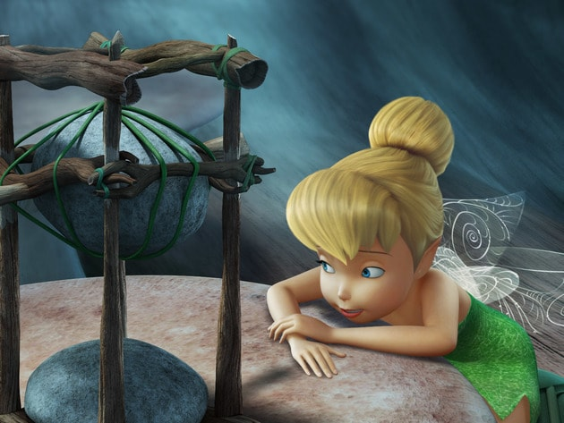 It doesn't take long for Tink to come up with a good idea.