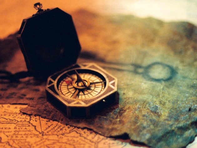 The compass is the key to everything—for those who know how to use it.