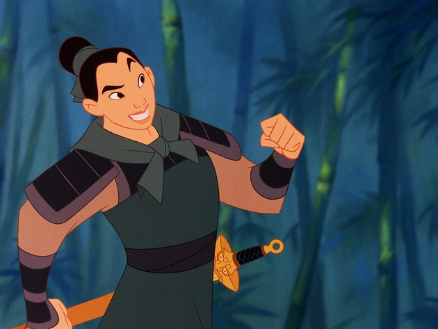 Mulan's inner-warrior was just waiting for a chance to emerge.