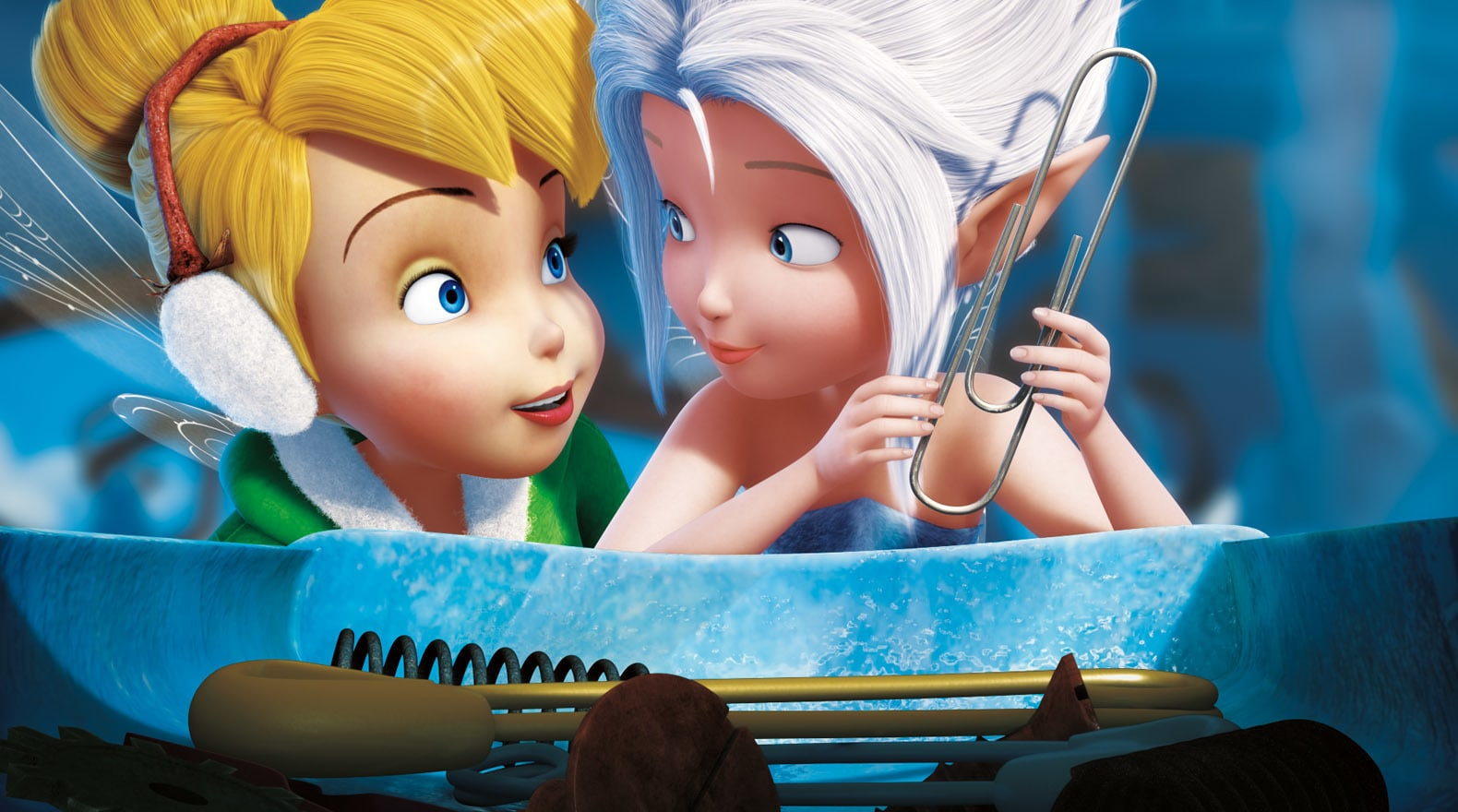 Tinker Bell and her sister Peri both love collecting lost (or found) things.
