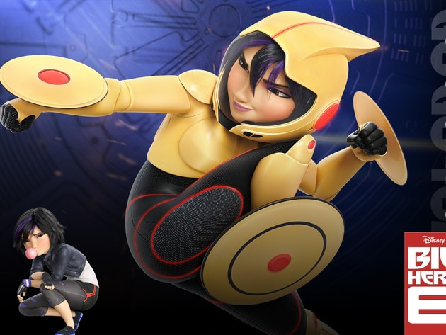 """Go Go (voiced by Jamie Chung) in the movie """"Big Hero 6"""""""