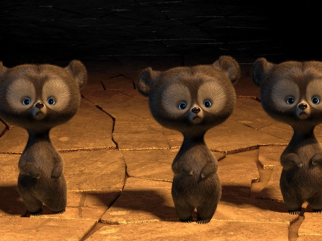 These three wee bears are up to no good!