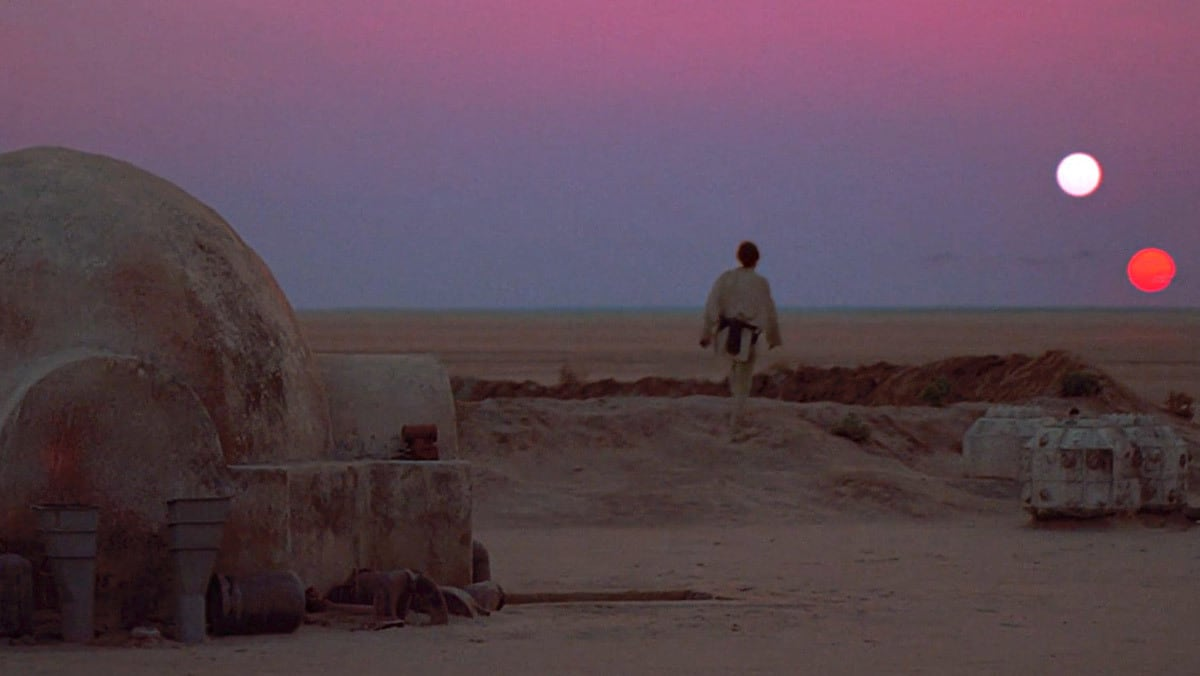 Luke Skywalker sur Tatooine