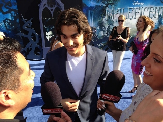 Blake Michael at Maleficent