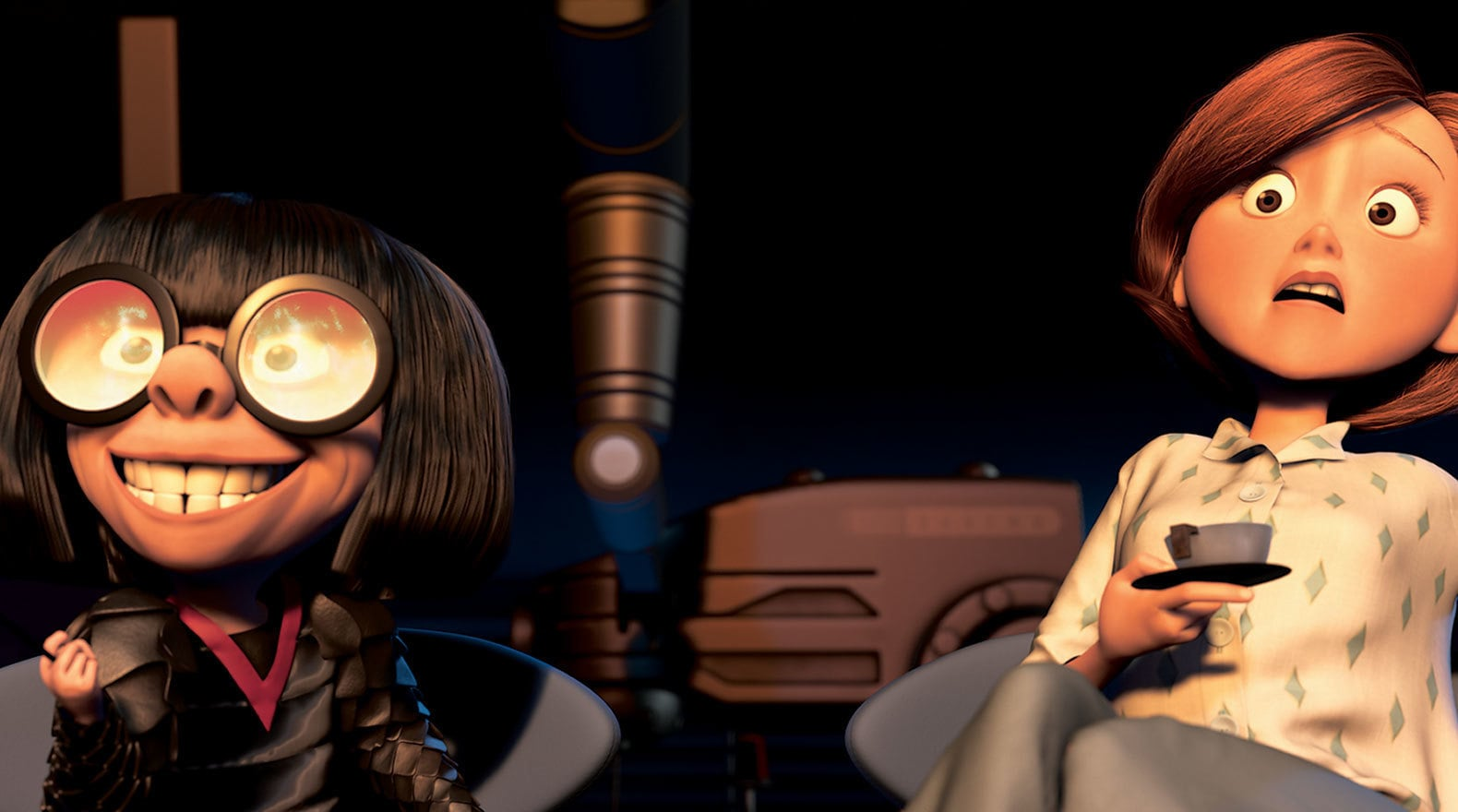 Edna has a spark of inspiration for a new super suit.