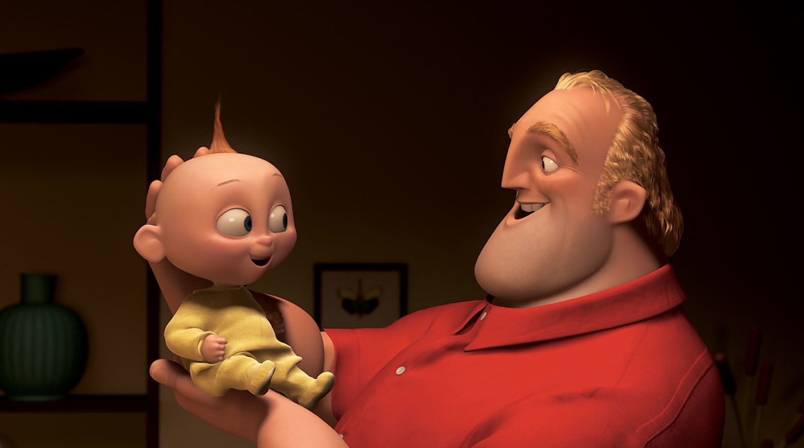 """Bob and Jack-Jack in """"The Incredibles"""""""