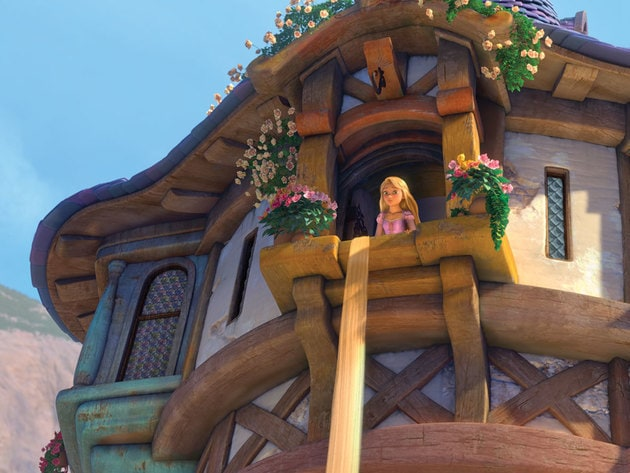Rapunzel's dream of leaving her tower is about to come true.