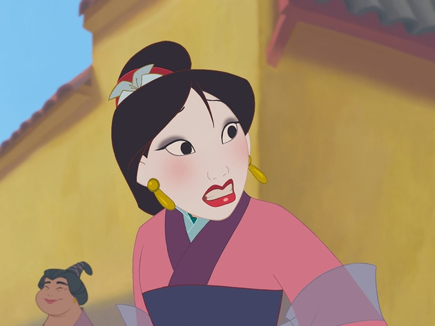 Mulan learns that it can be hard to fit in when you're born to stand out.