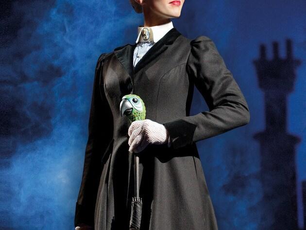 Das zauberhafte Kindermädchen Mary Poppins.