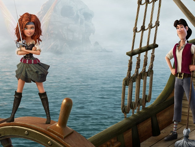 Meet Zarina and James, two new characters from The Pirate Fairy