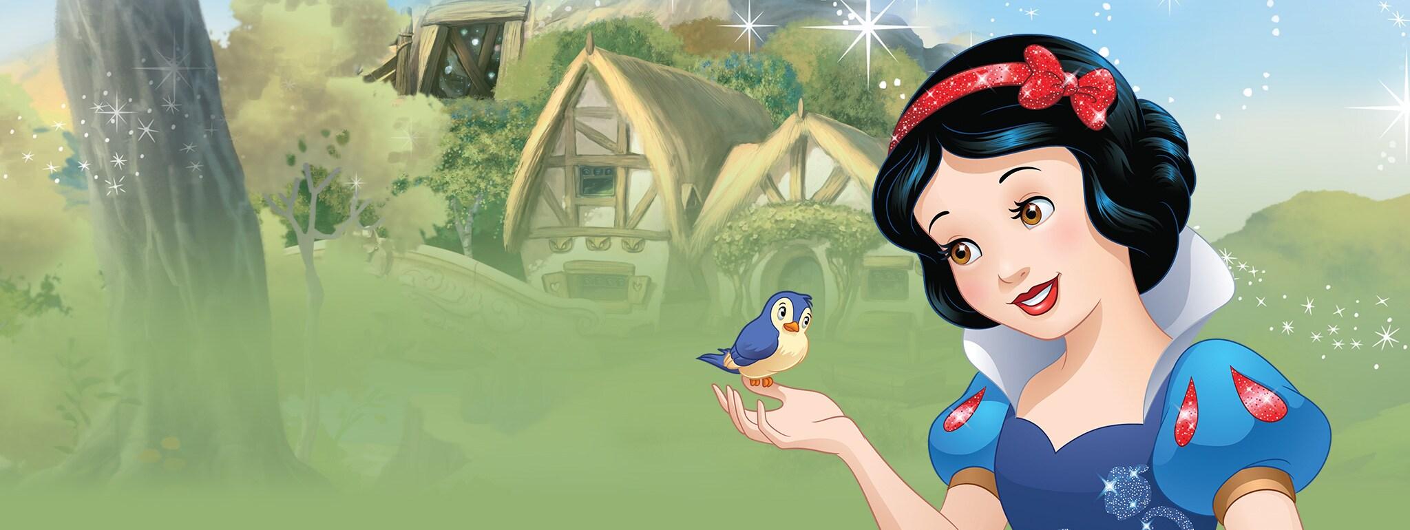 snow white games videos activities disney princess uk - Disney Princess Art And Activity Collection