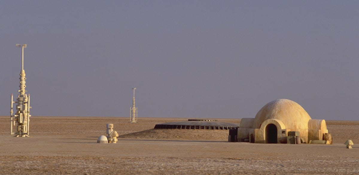 The Lars homestead on Tatooine