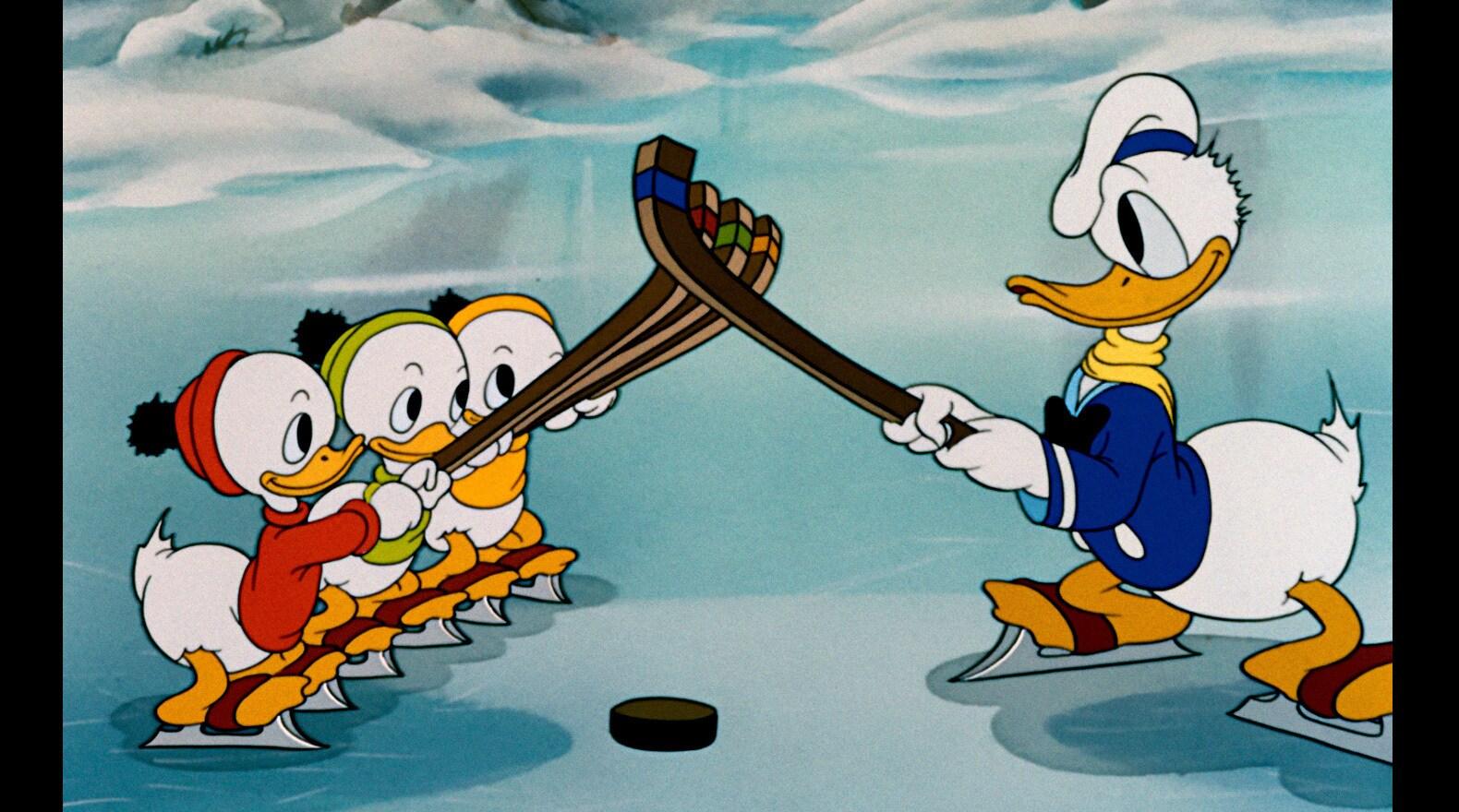 Donald and His Nephews