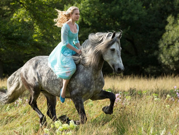 Cenerentola a cavallo