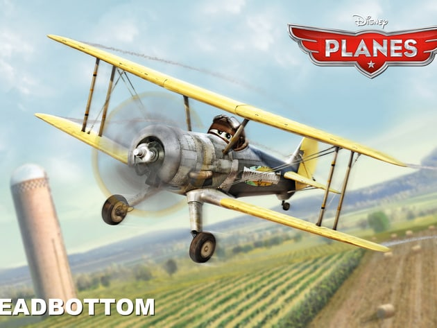 "Leadbottom is a puttering old biplane and a grumbling taskmaster, a real ""tank-half-empty"" kind o..."