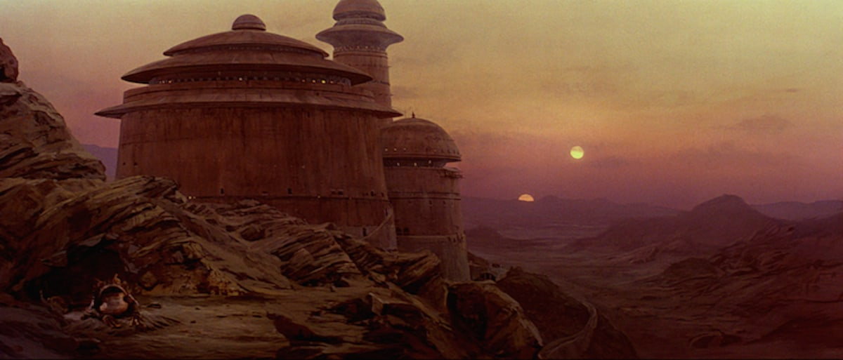 Jabba's Palace on Tatooine