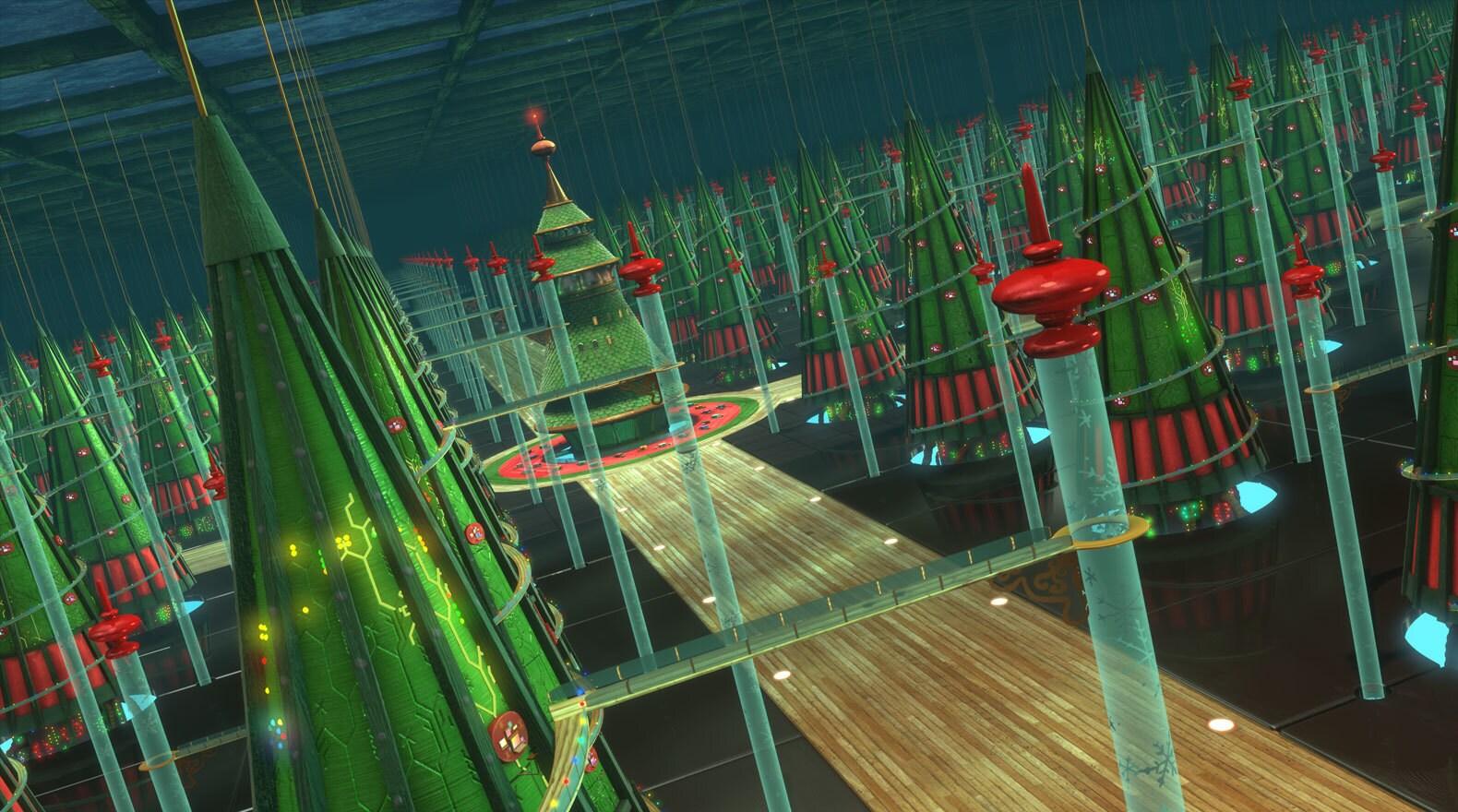 The brainchild of the brilliant Mr. Thistleton, the database tree farm is a sprawling underground...