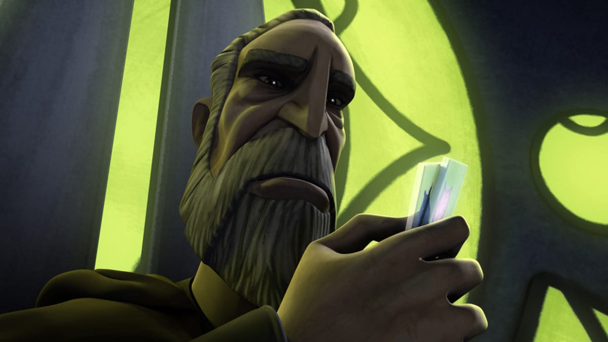 Count Dooku on Serenno
