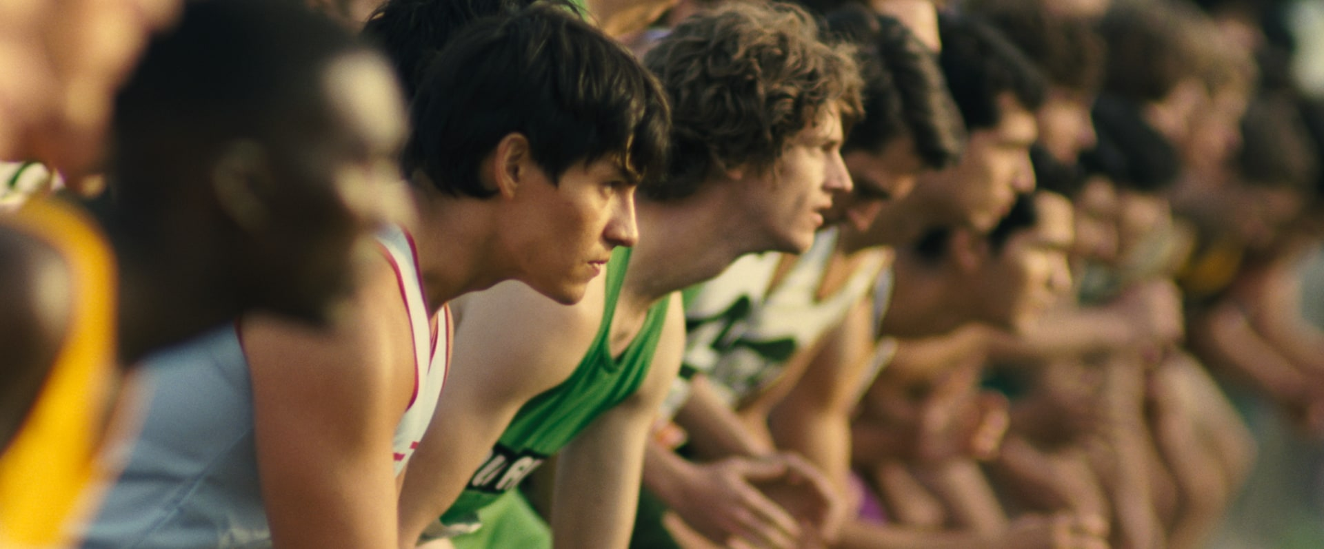 """Group of young men ready for a race in """"McFarland, USA"""""""