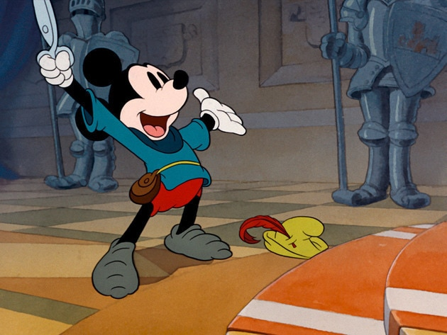 Mickey is called on to help the town defeat a giant.