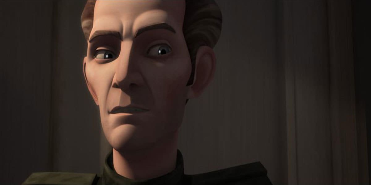 Tarkin during The Clone Wars