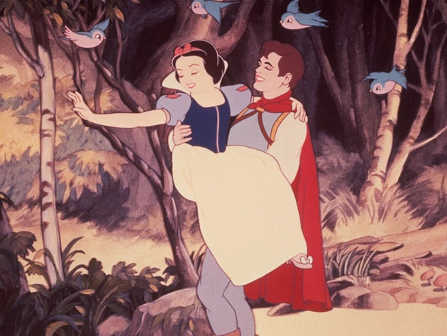 After making a wish into a well, Snow White finds her prince.