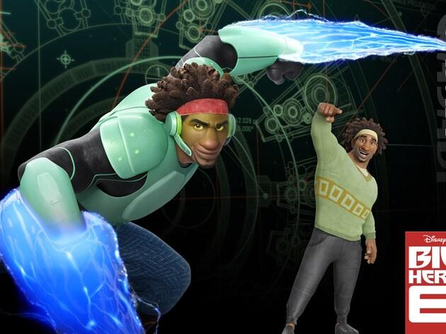 "Wasabi (voiced by Damon Wayans Jr.) in the movie ""Big Hero 6"""