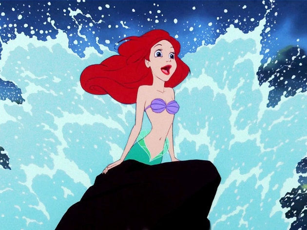"""""""Out of the sea, wish I could be, part of that world!"""""""